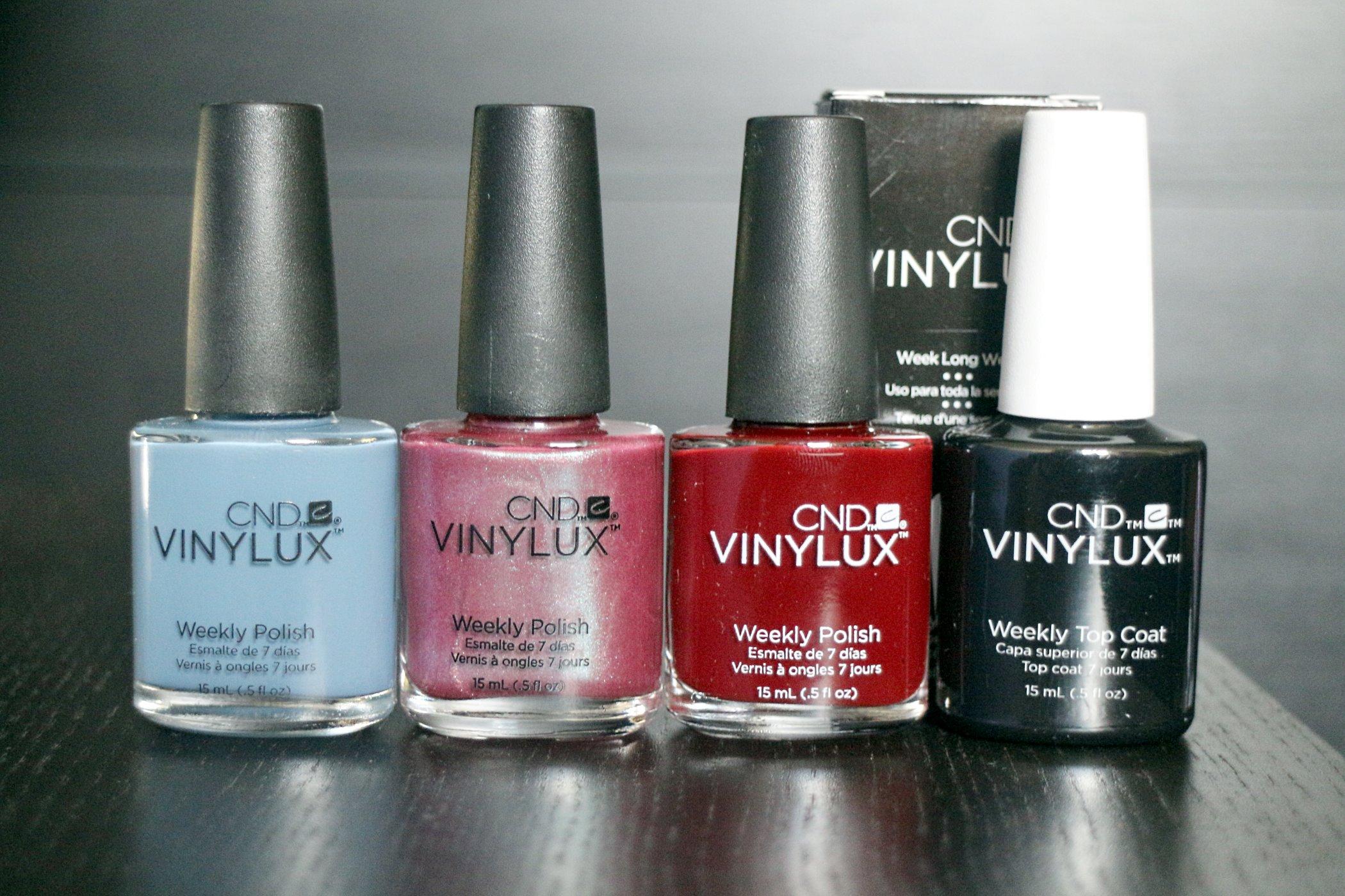 3 Nagellacke und Top Coat von CND Vinylux im Test – *Werbung* – Mein ...